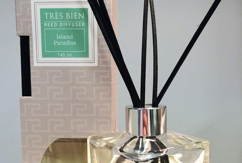 Black Reed Diffuser Home/Office – Island Paradise Fragrance