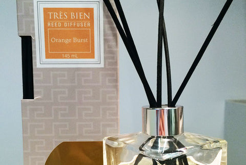 Black Reed Diffuser Home/Office – Orange Burst Fragrance