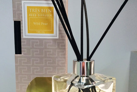 Black Reed Diffuser Home/Office – Wild Pear Fragrance