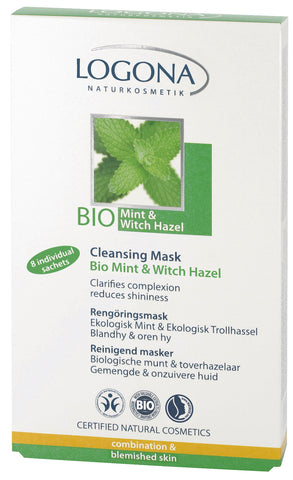 Cleansing Mask Organic Mint & Witch Hazel - Avani Organics