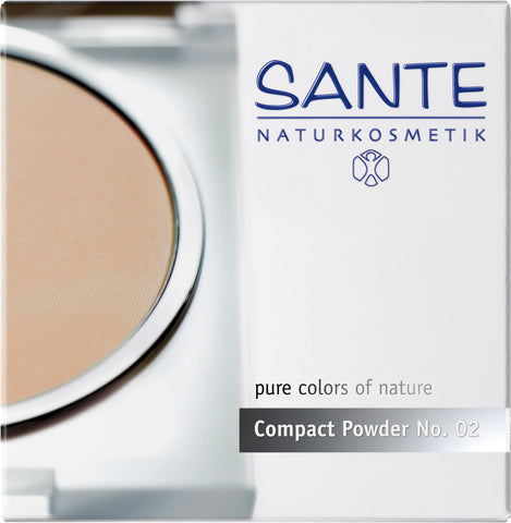 Compact Powder Light Sand 02 - Avani Organics