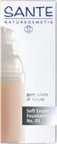 Soft Cream Foundation Porcellan 01 - Avani Organics