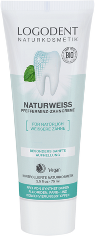 Natural White Peppermint Toothpaste - Avani Organics