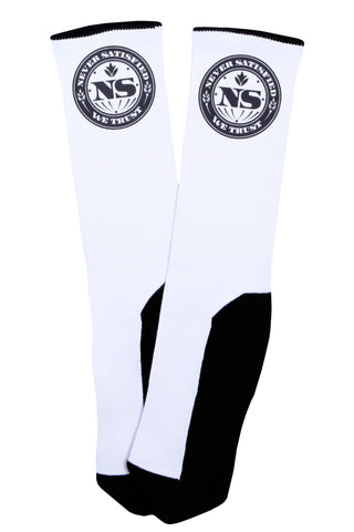 Never Satisfied Crew Socks