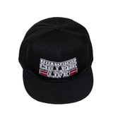 NEVER SATISFIED COLLEGE LIFE SNAPBACK