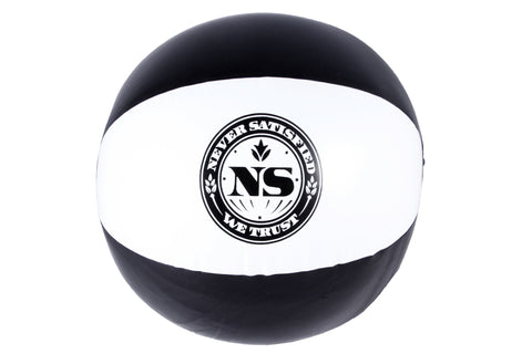 Never Satisfied Inflatable Beach Ball