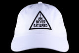 I Am Never Satisfied Dad Hats