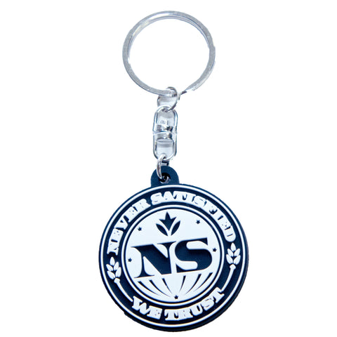 Never Satisfied Keychain