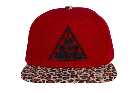 I Am Never Satisfied Snapback