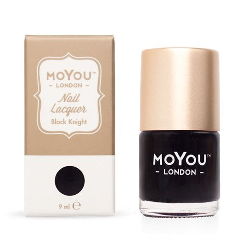 MoYou London - Black Knight MN013 לק חותמות