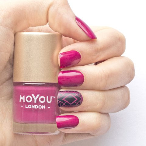 MoYou London -   Mulled Wine MN028 לק חותמות