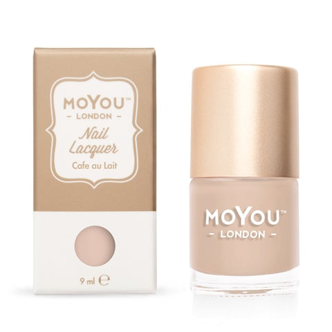 MoYou London - Café Au Lait MN089 לק חותמות