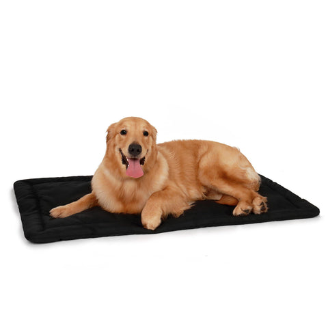 Premium Crate & Kennel Bed Pad Mat - Made Tough & Water Resistant