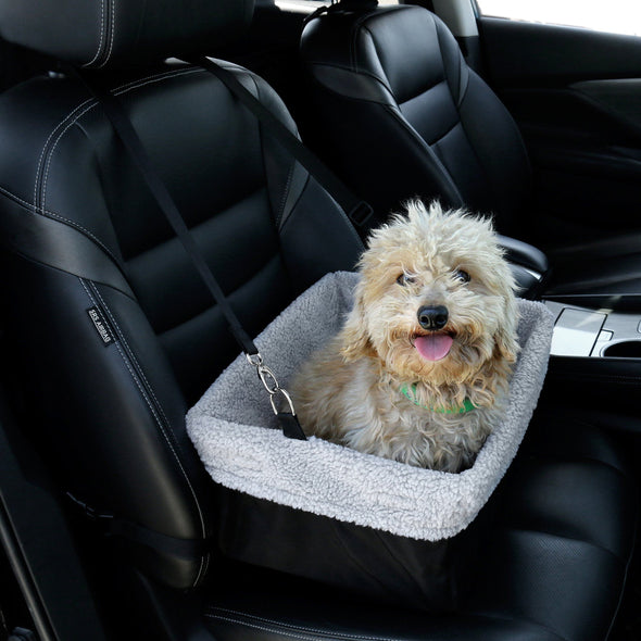 Premium Pet Booster Car Seat - Suitable for Dogs & Cats