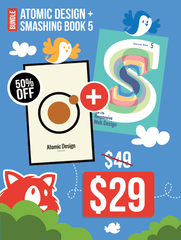 Atomic Design (eBook) + Smashing Book #5 (Hardcover)