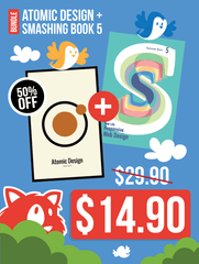 Atomic Design + Smashing Book #5 eBook Bundle