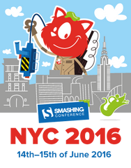 ★ SmashingConf New York (June 14–15, 2016) ★