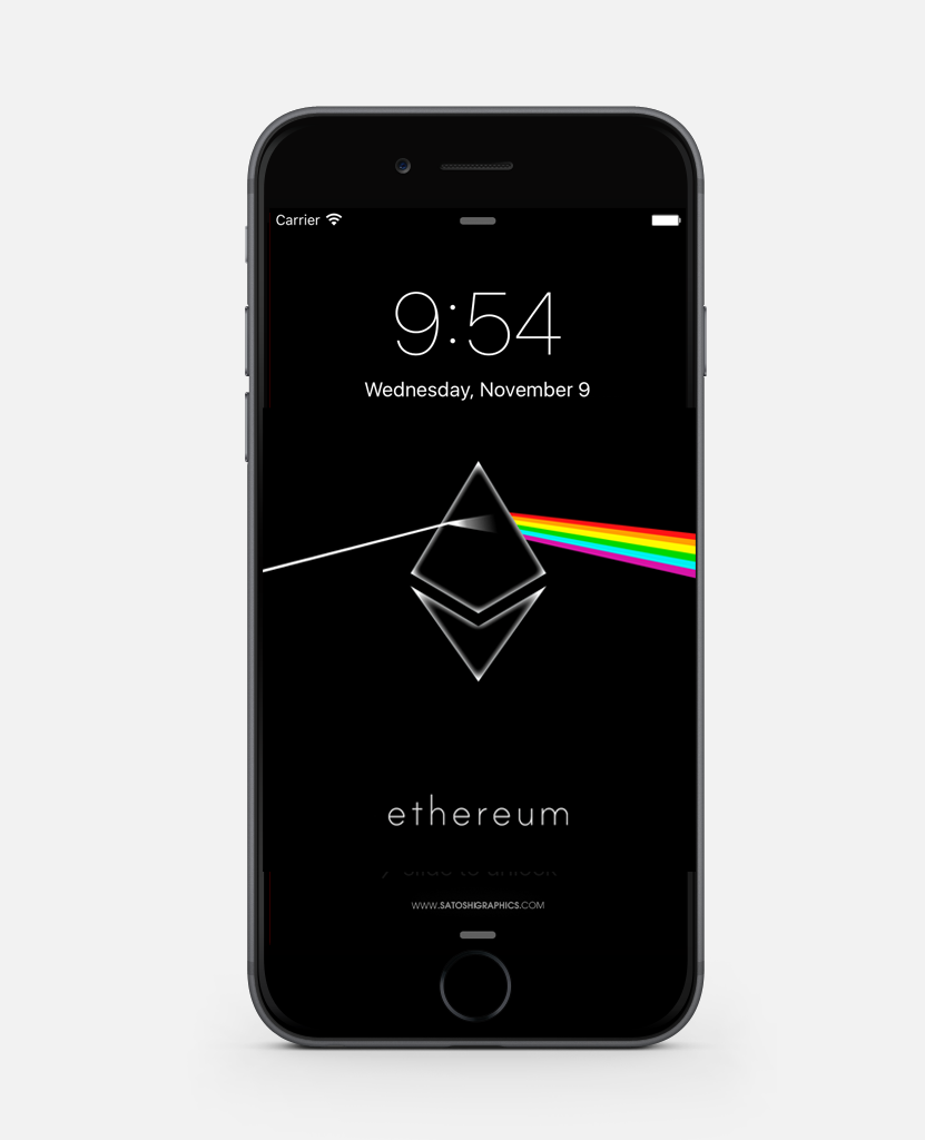 Ethereum Wallpaper iPHONE