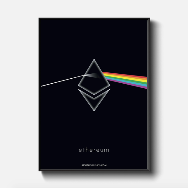 Ethereum: Art Prints, moon