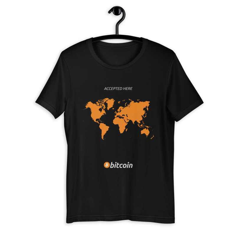 Accepted Here - Bitcoin T-Shirt