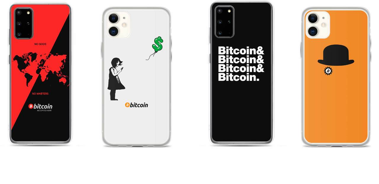Bitcoin and Crypto Phone Case