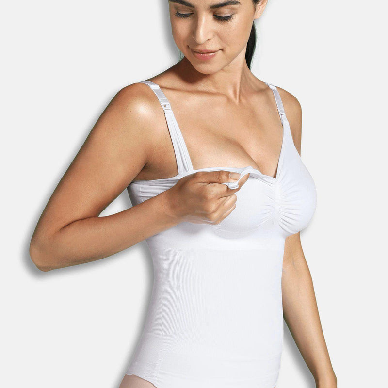 Carriwell Ammetop med shapewear - Hvid