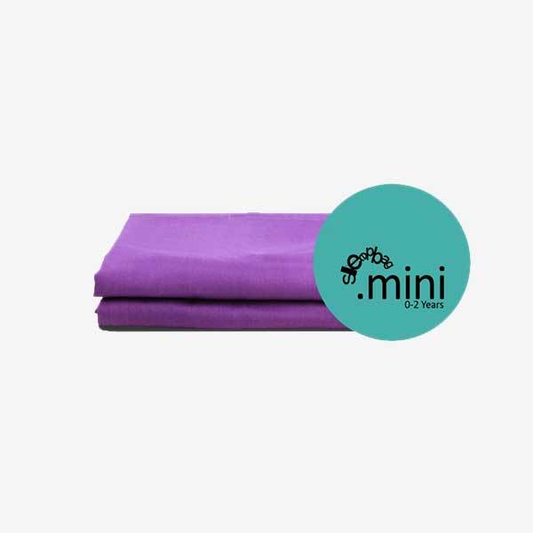 2 pack lagen til Sleepbag.mini soveposen - lilla T - Tilbehør til sleepbag - MamaMilla