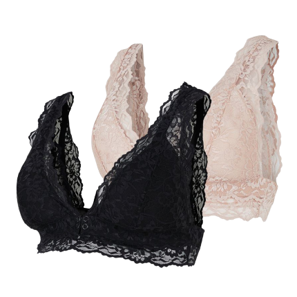 Image of Mamalicious 2 pack amme BH - Senia - L (shopify_DK_6562254585943_39306665328727)