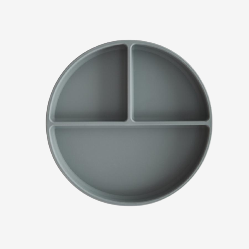 Image of Mushie - Silicone Suction Plate - Smoke (shopify_DK_4687901556823_32490379083863)