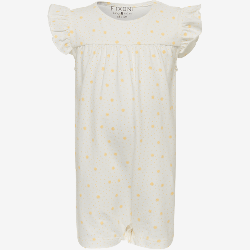 Image of   Fixoni sommer heldragt/romper - Mellow Yellow - 56