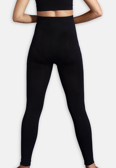Carriwell leggings til gravide med support - Sort Graviditetstøj Carriwell
