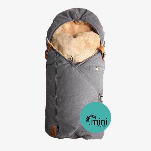 Image of Sleepbag.mini kørepose til kombivognen - denim (14640737)