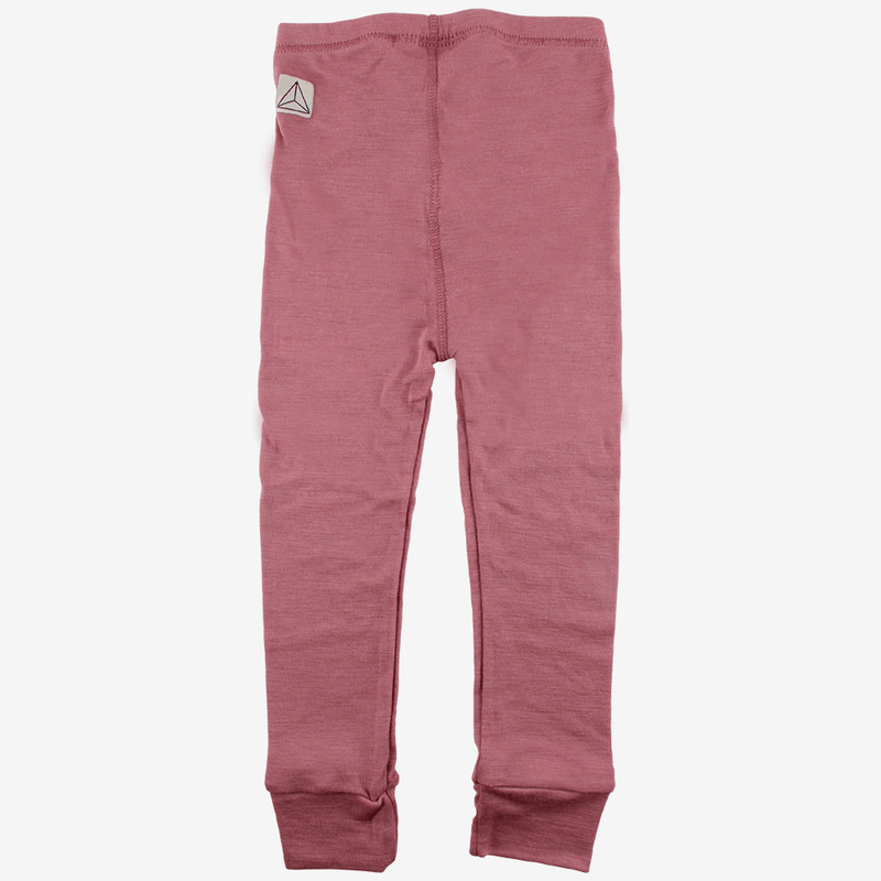 Leggings - Nordic Label uld-leggings - Mørk rosa - MamaMilla