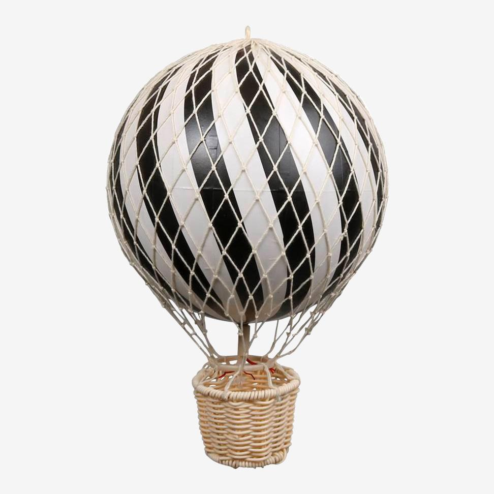 Image of Filibabba luftballon - sort - 20 cm. (11541254)