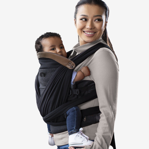 Image of Boppy - Comfy fit luxe bæresele - Charcoal (shopify_DK_4658074681431_32421239554135)