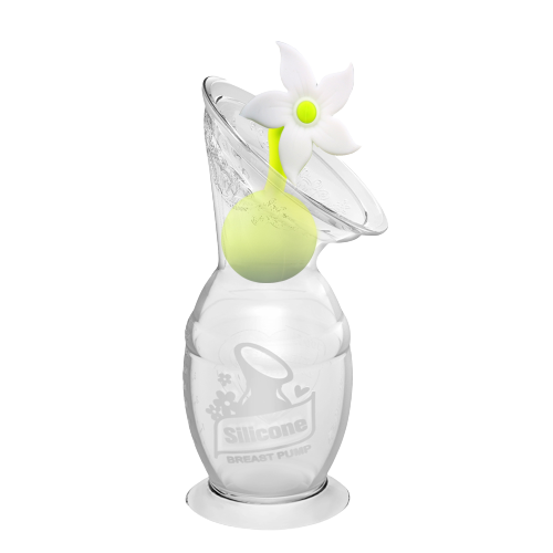 Image of Haakaa Brystpumpe med blomst - 150 ml (shopify_DK_6562693251159_39308120883287)