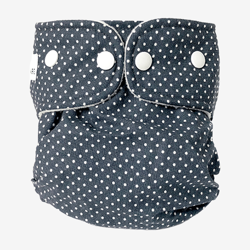 Image of WeeCare cover til ble - Dots Midnight Blue - Large (shopify_DK_4480798687319_31826404048983)