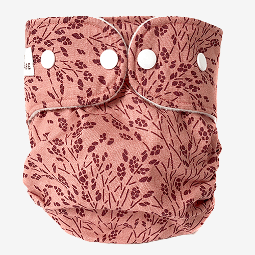 Image of WeeCare cover til ble - Meadow- Rose/Bordeaux - Large (shopify_DK_4480803373143_31826435670103)