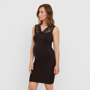Mamalicious seamless vente-nederdel - Sort