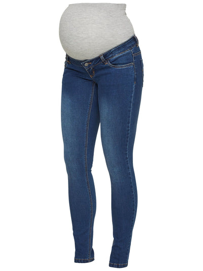 Mamalicious slim fit ventejeans - Denim