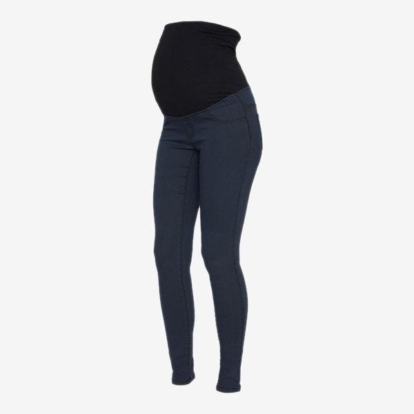 Mamalicious vente leggings/jeggings - Denim - Graviditetstøj - MamaMilla