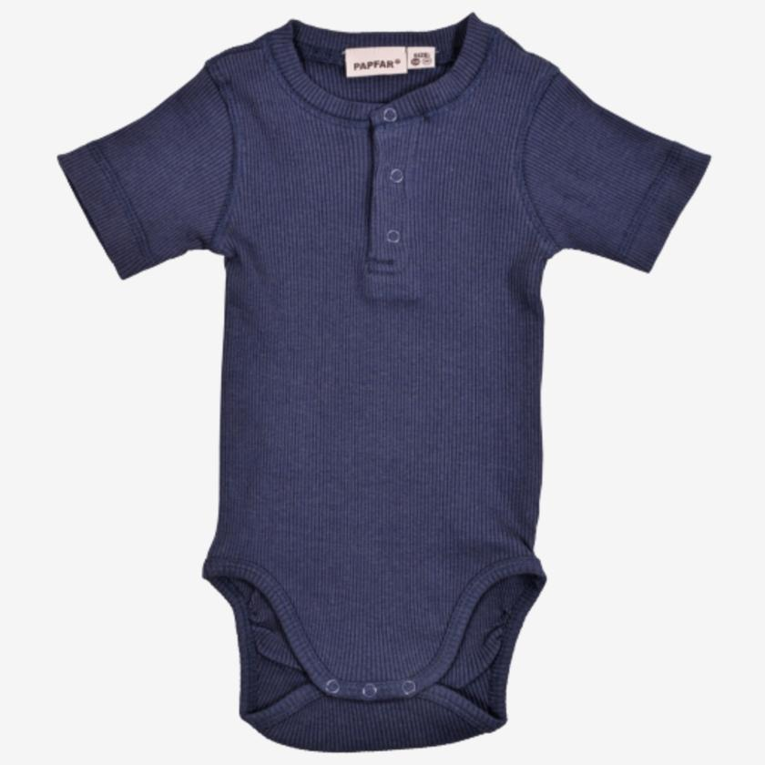 PAPFAR Body med knapper - Blue Nights-Body-MamaMilla