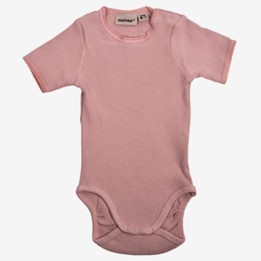 Image of PAPFAR Body med blonder - Misty Rose - 2 år (shopify_DK_4457489399895_31721872097367)