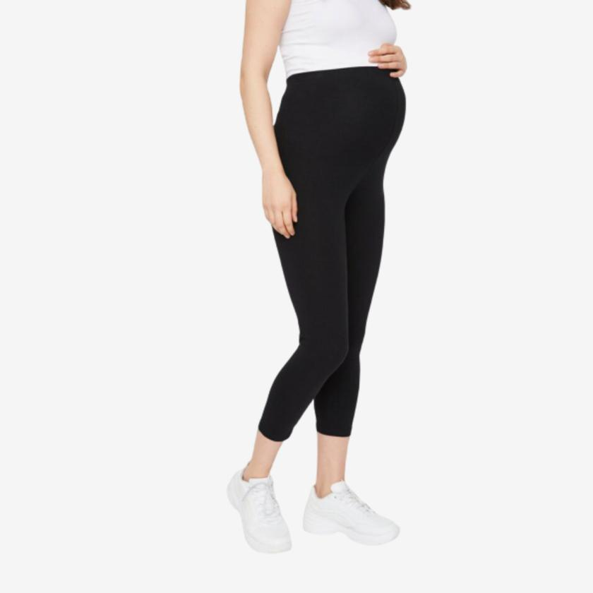 Image of   Mamalicious 2-pack 3/4 leggings i økologisk bomuld - XL