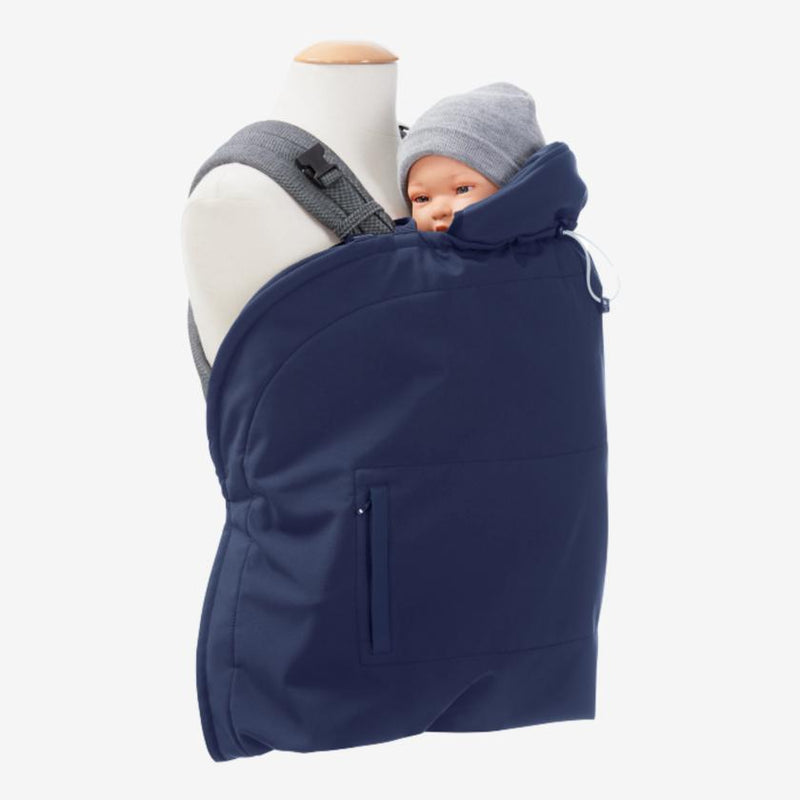 Mamalila softshellcover - Navy ice