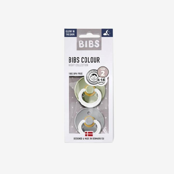 Image of Bibs 2pack sutter - Cloud/Sage Night - Str. 1 (0-6 mdr.) (shopify_DK_4586054746199_32473600852055)
