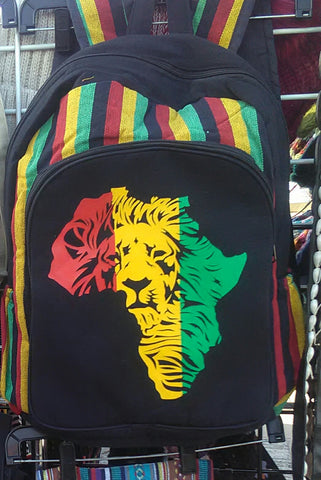 Lion Backpack.
