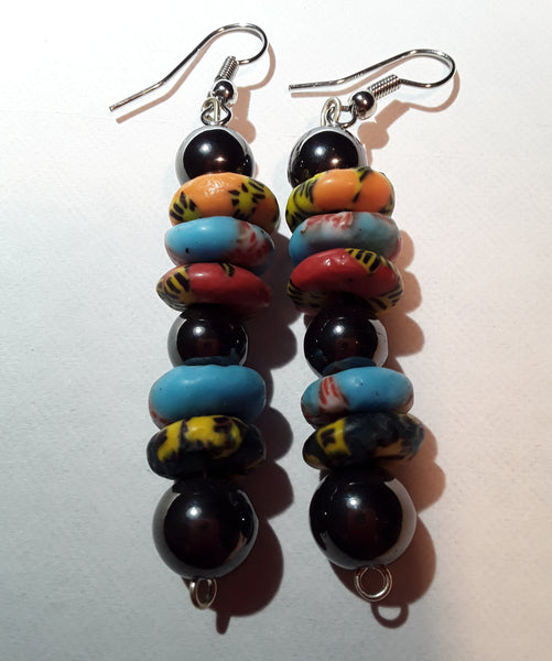 Exotic African Beaded Earring!