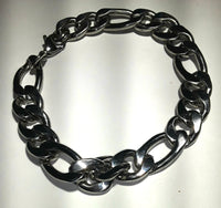 "Stainless Steel 12mm-9"" Bracelet"