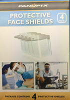 Panoptx Protective Face Shields Pack of 4